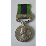 India General Service Medal 1908, Geo V, clasp Afghanistan N.W.F. 1919 named to 404260 Aircraftma...