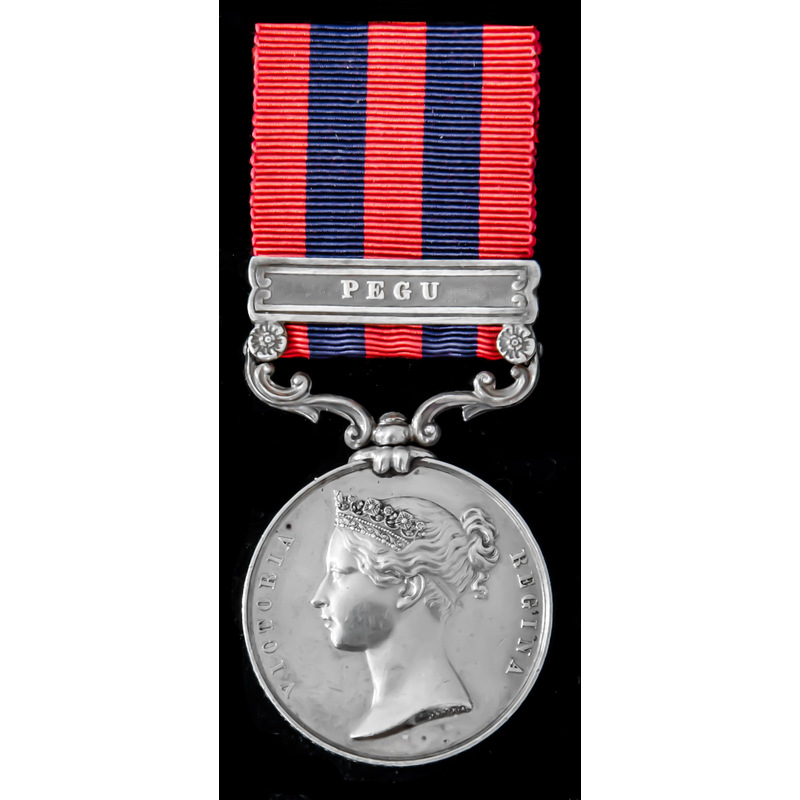 An India General Service Meda. | Wellington Auctions