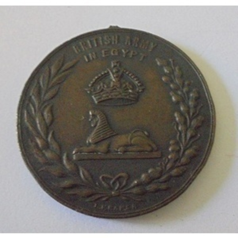 Medallion. British Army in Eg. | Wellington Auctions