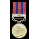 India General Service Medal 1854, one clasp Pegu, glazed and gilded. A magnificent un-marked H.E....