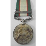India General Service Medal 1935, Geo VI, clasp North West Frontier 1936-37 named to 2986 Sepoy M...