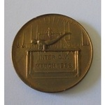 Small medallion, HMS Caledonia, Inter Division March 1958.