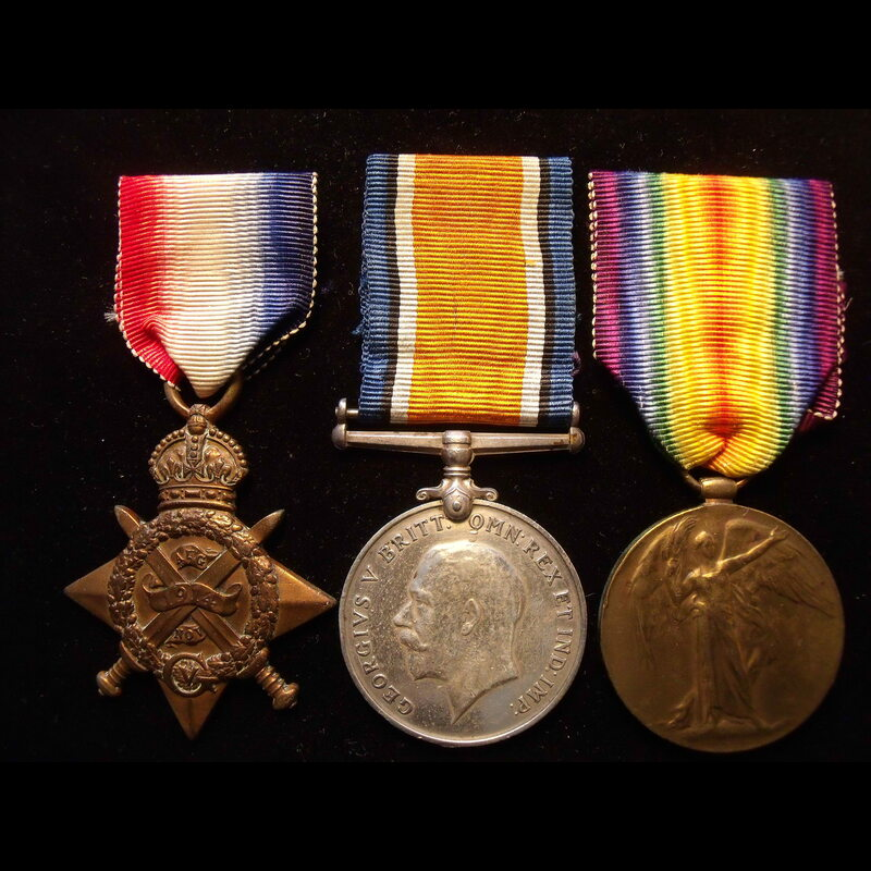 1914 TRIO to M-29820 L.CPL/A.. | Great War Medals