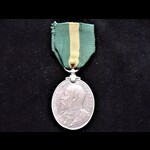 EviiR TERRITORIAL FORCE EFFICIENCY MEDAL to 56 PTE J. CHAMBERLAIN 5th MANCHESTER REGT - award ann...