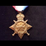 1914/15 STAR to 2593 PTE George WHITE  THE QUEENS R. To Gallipoli 17/7/15 with 2/4th Queen's (Roy...