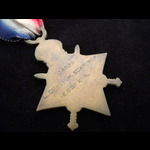 1914/15 STAR to 14839 L.CPL Percy Harold SCARBROW 11th ESSEX REGT. To France 30/8/15 but was woun...