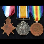 1914 TRIO to PTE  TEE  11th HUSSARS