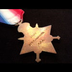 1914 STAR to 87678 DVR Frederick SAUNDERS R.H.A. To France 5/11/14 with 'O' Battery (The Rocket T...
