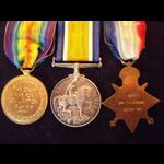 1914/15 Trio to CPL / 2nd LIEUT Thomas Victor Duncan 19th CAN.INF.   with Personal Ephemera