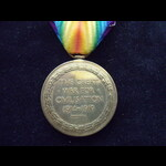 VICTORY MEDAL to 30829 PTE John CHERRY YORK.& LANC.R. Served overseas with the York & Lancaster R...
