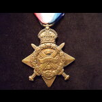 1914 STAR to S-411 PTE Edward WILLETT 2nd ROYAL SUSSEX REGT. To France 20/9/14 & qualified for th...