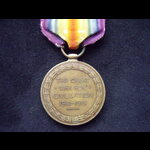 VICTORY MEDAL to 54051 PTE William James CHAINEY 8th ROYAL BERKSHIRE REGT. Served on the Western ...
