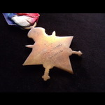 1914/15 STAR to 3005 PTE Sidney CARNT 3rd LONDON REGT. Served in Egypt from 22/4/15 & suffered a ...