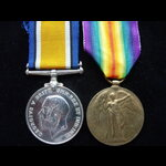 BWM & VICTORY MEDAL to BZ-6646 Henry William COLEMAN, Signaller, Bristol Division R.N.V.R. from B...