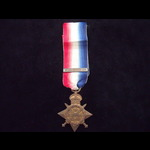 1914 STAR & old copy 'Aug-Nov 1914' Clasp to 10315 PTE James ANDERSON 2nd GORDON HIGHLANDERS - Bo...