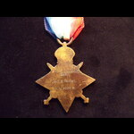 1914 STAR & Copy 'AUG-NOV 1914' CLASP to 5990 SJT George WRIGHT 1st WEST YORKSHIRE REGT who serve...