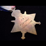 1914 STAR to 970 PTE Peter FORSKY 1st GORDON HIGHLANDERS of Aberdeen. To France 28/8/14 & was tak...