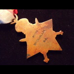 1914/15 STAR to 69654 SPR Walter HALLAM R.E. who sailed back from S.America to enlist. To France ...