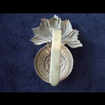 Original ROYAL FUSILIERS Brass Cap Badge.    Post-1902 Smaller size (slider)