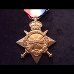 1914/15 STAR to S-3613 PTE John BLACK SEA.HIGHRS.  To France 8/7/15 with 8th Seaforths & later se...