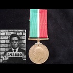 MERCANTILE MARINE WAR MEDAL to FRED CHARMAN from Uckfield, Sussex (Rated as a Quartermaster)
