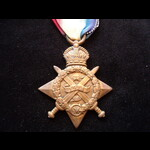 1914 STAR to 13414 PTE Willia. | Great War Medals