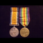 BWM & VICTORY MEDAL to 2nd LIEUT Norman MELLALIEU 2/6th LANCASHRE FUSILIERS from Worsley, Manches...