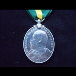 EviiR TFEM to 9 SJT W. T. SPICER  S.& K. R.G.A. - His medal was announced in Army Orders of July ...