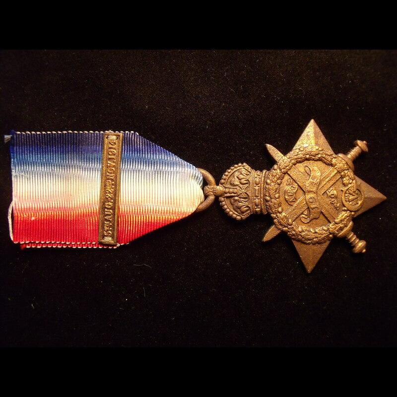 1914 STAR to 8735 PTE Herbert. | Great War Medals