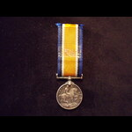 MINIATURE BRITISH WAR MEDAL with Fixed Suspender