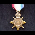 1914/15 STAR to 572 SPR  Ernest TOY R.E. Born Penryn, Cornwall 1890 & originally served in 1st V....