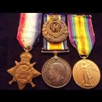 1914 Trio to SAPR Cecil Robert Manning THOMPSON  Royal Engineers, later Royal Flying Corps