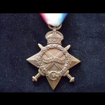 1914/15 STAR to 20813 PTE Frank CALDERBANK 6th LOYAL NORTH LANCASHIRE REGT. Born Ribbleton, Prest...