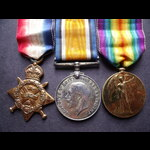 1914 TRIO to PTE HARRISON 1st R.WAR.REGT to 8th General Hospital 3/5/17