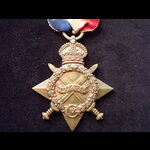 1914/15 STAR to S-8314 PTE Thomas MACLEAN SEA.HIGHRS. To France 14/7/15 & served with 1st Seafort...