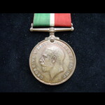 MERCANTILE MARINE WAR MEDAL to Gomer Emlyn THOMAS from Birkenhead. Later First Mate