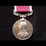 GvR ARMY L.S.& G.C. MEDAL to SUB-CONDUCTOR George JOHNSON,  SUPPLY & TRANSPORT CORPS (Indian Army)