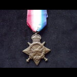 1914/15 STAR to 2nd LIEUT Alexander Richard NICHOLSON I.A.R.O. ATT'D. 1/102nd GRENDADIERS. Aide d...
