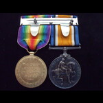 BWM & VICTORY MEDAL to G-19091 PTE James Henry ORR  10th 'Royal East Kent & West Kent Yeomanry' B...