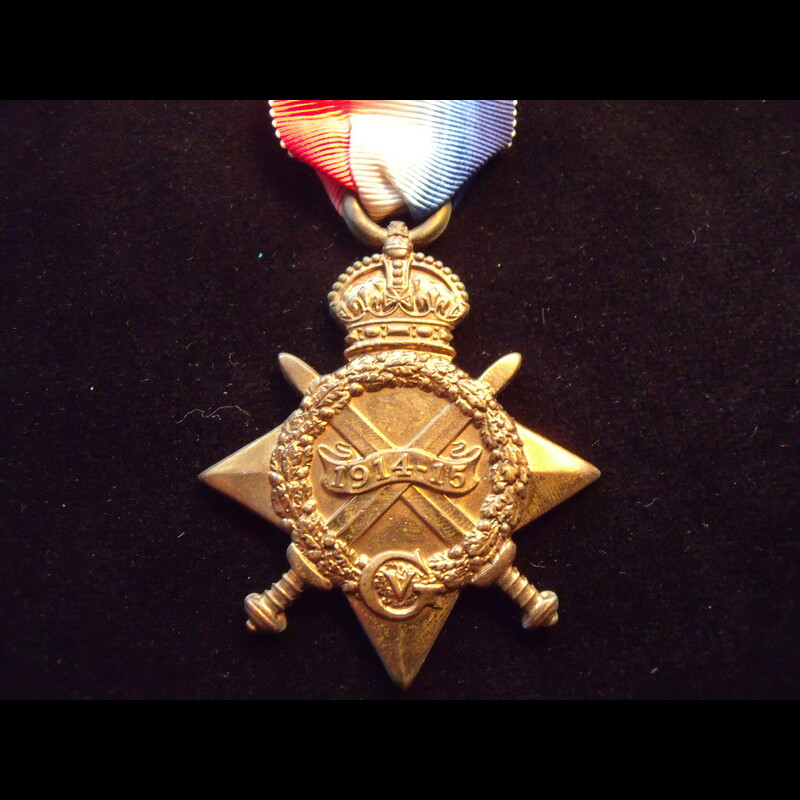 1914/15 STAR to 9340 PTE Albe. | Great War Medals