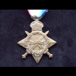 1914/15 STAR to PTE MORRISSEY DERBY.YEO - Wounded with 8th Notts &Derby Regt 1918