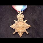 1914/15 STAR to 3429 PTE John William STORRY, EAST YORKSHIRE REGT. Went to France with 1/4th Batt...