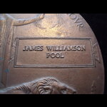 BWM & MEMORIAL PLAQUE to 2nd LIEUT James Williamson POOL, 6th SCOTTISH RIFLES.  Was wounded at Ga...