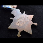 1914 STAR & VICTORY MEDAL to LIEUT Edmond St.Vincent RYAN R.M.BRIGADE. Served with the Portsmouth...