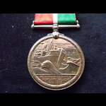 MERCANTILE MARINE WAR MEDAL to FREDERICK W. MOLES, an experienced First Mate in the Mercantile Ma...
