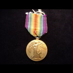 VICTORY MEDAL to J.82568 Pharos GAY BOY.1 R.N.  Born Axminster, Devon 1902. Joined the Royal Navy...