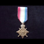 1914 STAR to 13414 PTE William Henry WOODWARD 3rd WORCESTERSHIRE REGT. To France 12/8/14 Wounded ...