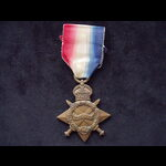 1914/15 STAR to 3103 PTE Albe. | Great War Medals