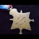 1914 STAR to 4981 PTE William Hewett HUCKETT 5th DRAGOON GUARDS who served in the Boer War & was ...