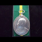 EviiR TFEM to 412 SJT W.PARKINSON 4/L.N.LANC.REGT - His medal was announced in Army Orders of Jan...